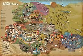 Map San Diego San Diego Zoo Safari Park Map Images