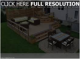 backyards compact backyard decks and patios outdoor deck and