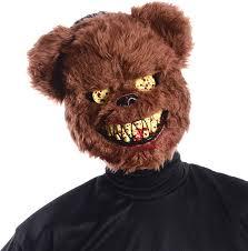amazon com ted deady bear creepy scary bloody teeth latex