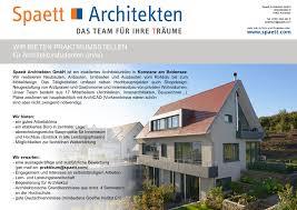bewerbung praktikum architektur stellen praktika im studiengang architektur und städtebau