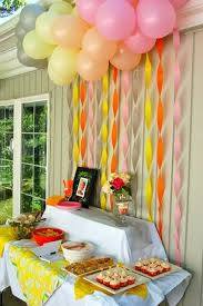 Decorating With Streamers For More Cheerful Look