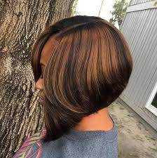 one side stack sassy bob bllack hair 60 showiest bob haircuts for black women bobs black and black