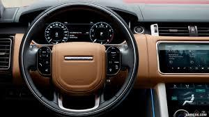 wheels land rover 2018 2018 range rover sport interior steering wheel hd wallpaper 17