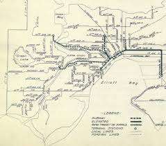 seattle map eastlake historical map rapid transit plan by the city of transit maps