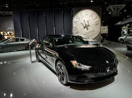 custom maserati ghibli wallpaper maserati ghibli nerissimo sport car black 2017 new