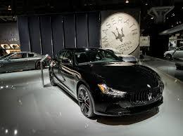maserati sport car wallpaper maserati ghibli nerissimo sport car black 2017 new