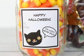 Halloween Candy Jars by Happy Halloween Mason Jar Gift Yesterday On Tuesday