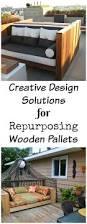 creative design solutions for repurposing wooden pallets chemistrycachet com jpg