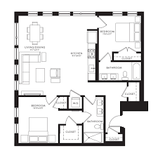 2 bedroom floorplans u2014 kipling house