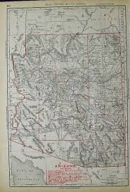 Arizona Maps by Prints Old U0026 Rare Arizona Page