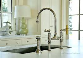 Bridge Kitchen Faucet Houzz Kitchen Faucets C Deck Mount Bridge Kitchen Faucet Polished