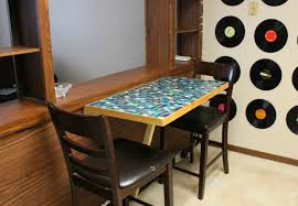 Kitchen Folding Tables by Folding Kitchen Table Diy Video And Photos Madlonsbigbear Com
