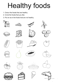 Pictograph Worksheet 99 Free Esl Healthy Worksheets