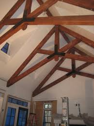 architecture nice construction of scissor truss for your home