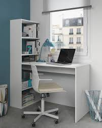 Desk With Hutch White by Duplex Floating Desk With Bookshelf In White By Furniturefactor Co Uk