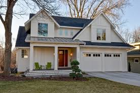 Garage Door Exterior Trim Farmhouse Front Doors Exterior Farmhouse With Standing Seam Roof