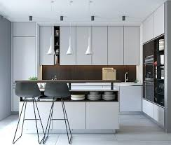 Black And White Contemporary Kitchen - modern kitchen cabinets u2013 subscribed me