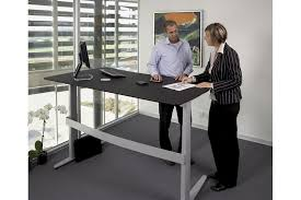 Electric Sit To Stand Desk Electric Sit Stand Desks By Linak New Zealand Selector
