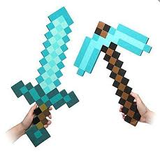 25 minecraft sword ideas craft party