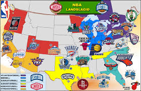 map usa nba 201213 nba teams map now with 100 more canada nba how many teams