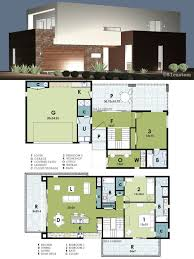 ultra modern live work house plan 61custom contemporary