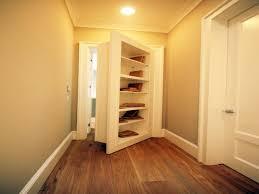 bookcase secret door house with secret rooms behind bookshelf