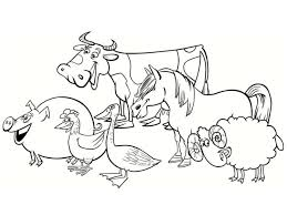 ferme 7 farm tractors farm animals coloring pages