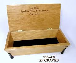 engraved box tea boxtea 08 mikutowski woodworking