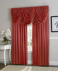 Valance And Drapes Amazon Com Ultra Luxurious Complete Hyatt Window Curtain