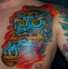 stunning colorful hannya mask chest photos and ideas