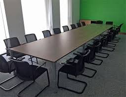 used conference room tables desk city used meeting tables