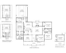 One Story Open Floor Plans by House Plan 2428 A The Springfield A Floor Plan Beautiful One