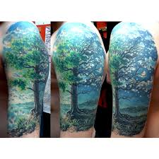 forest on shoulder best ideas gallery