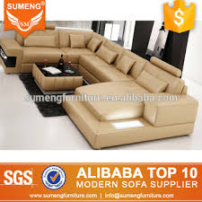 German Leather Sofas Sale German Style Living Room Furniture Leather Led Light