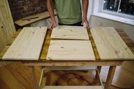 How To Make A Kitchen Table by How To Make A Hidden Trash Can Cabinet Danmade Watch Dan Faires