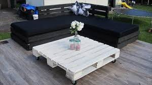 Outdoor Pallet Table Home Design Impressive Garden Sofa From Pallets Outdoor Pallet