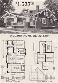 craftsman floorplans sears craftsman style house modern home 264b240 the corona