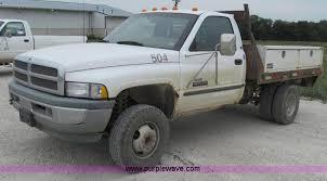 1998 dodge ram 3500 1998 dodge ram 3500 laramie slt flatbed truck item