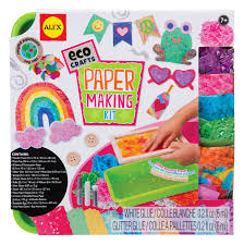 alex eco crafts paper making kit toy at mighty ape nz