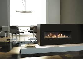 contemporary gas fireplace binhminh decoration