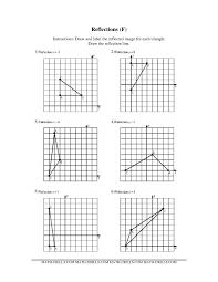 Symmetrical Shapes Worksheets Printables Reflections Worksheet Geometry Safarmediapps