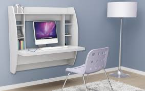 Small Wall Desk 4 White Floating Desks That Are Sleek And Gorgeous Floating Shelf