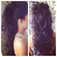 banana clip hair elongated ponytail e pony ponytail