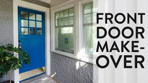 how to totally transform your front door with a coat of paint