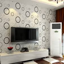 wallpaper for walls cost contracted fashion modern 3d printing wallpaper roll circle living