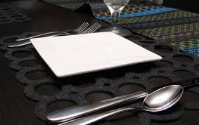 Table Place Mats Laser Cutting Felt Placemats And Coasters