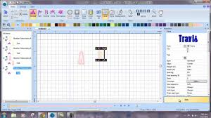25 Bes by Sewing Sequence In Bes Embroidery Lettering Software Youtube