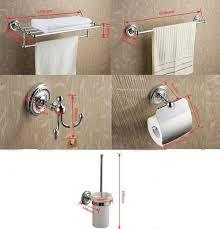 5 piece chrome finish bathroom accessory set 002 faucets online shop