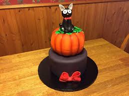 Pumpkin Halloween Cakes by Kiki U0027s Delivery Service Halloween Cake Cakecentral Com
