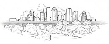 houston skyline tattoos sketches pictures to pin on pinterest